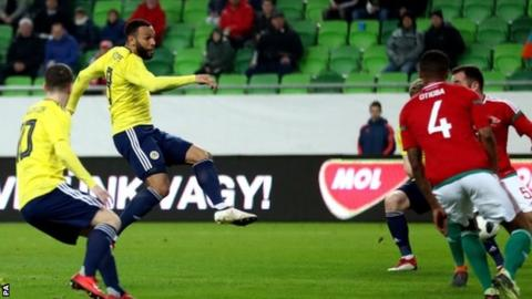 Scotland miss penalty but still earn first win of McLeish's second spell in charge 5