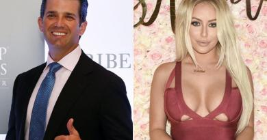 Donald Trump Jr. reportedly had affair with Aubrey O'Day 2