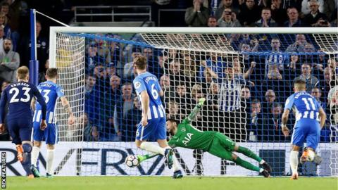 Brighton hold Spurs to edge closer to safety 3