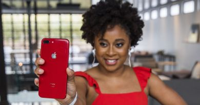 Apple and (RED) Teamed Up with Phoebe Robinson to Release the New Red iPhone 3
