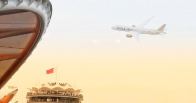 Gulf Air showcases new livery with Dreamliner flypast during Bahrain Grand Prix 4