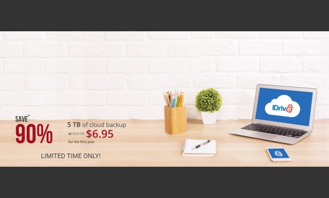 ET deals: 90% Off 5TB of IDrive Cloud Backup for Word Backup Day 10