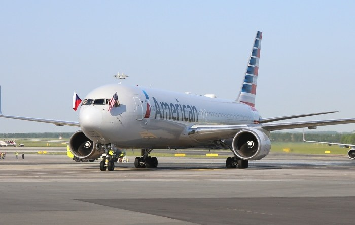 American Airlines arrives in Prague, Czech Republic, for first time 10