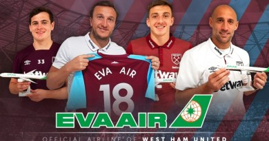 Eva Air partners with West Ham for upcoming Premier League season 4