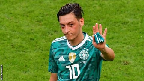 German FA 'emphatically rejects' Ozil's racism allegation 8