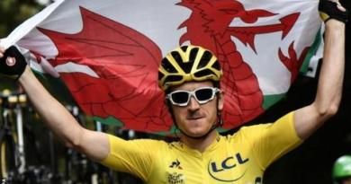 Tour de France: Geraint Thomas wins as Chris Froome finishes third 6