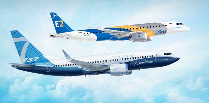 Embraer signs strategic partnership with Boeing 10