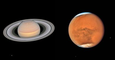 Hubble Captures Mars and Saturn as They Pass Close to Earth 5