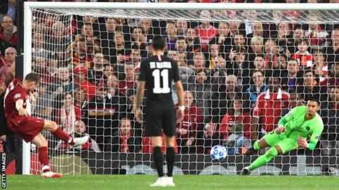 Firmino strike helps Liverpool win five-goal thriller with PSG 3