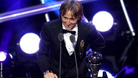 Luka Modric named best male player and Marta best female player at Fifa awards 3