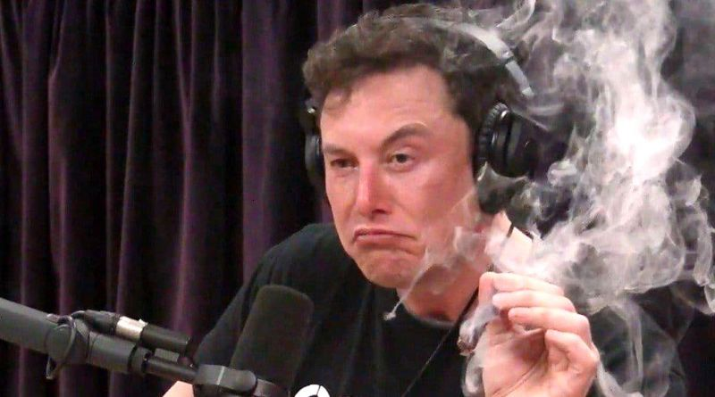 Elon Musk Smokes Weed, Makes Ass of Self in Interview with Joe Rogan 2