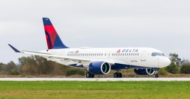 Delta Air Lines receives first A220 plane from Airbus 2