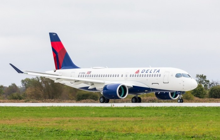 Delta Air Lines receives first A220 plane from Airbus 11