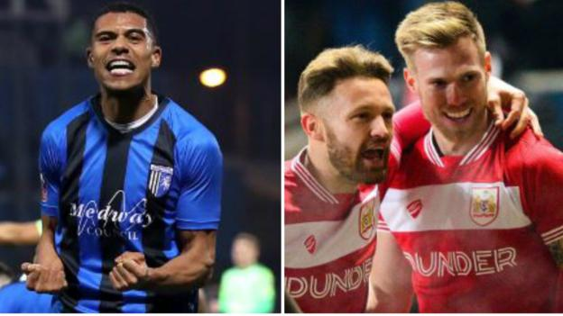 FA Cup round-up: Gillingham shock Cardiff and Bristol City surprise Huddersfield 5