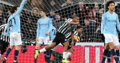 Newcastle United 2-1 Manchester City 5
