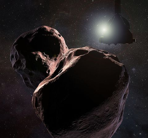 NASA's Newest Photos from Ultima Thule Make It Look Like a Red Snowman 4