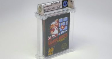 Early Copy of Super Mario Bros. Sells for Record-Setting $100,150 1
