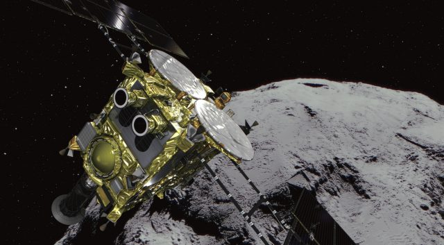 Japan's Hayabusa 2 Probe Is About to Shoot an Asteroid 1