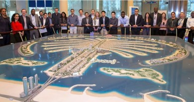 Cass Business School visits Palm master builder Nakheel 2