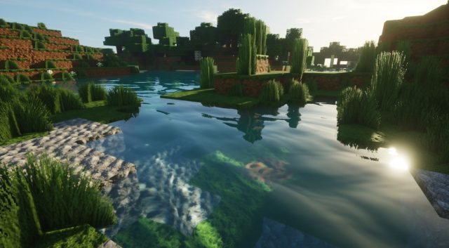 New Path-Traced Shaders Make Minecraft Look Amazing 3