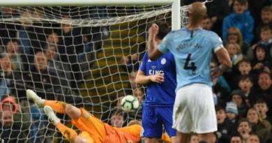 Manchester City 1-0 Leicester: Vincent Kompany scores spectacular winner 4