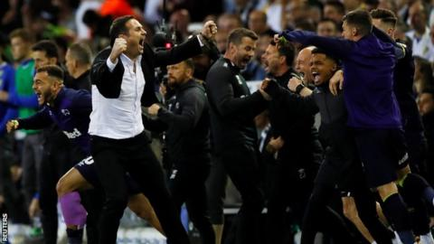 Leeds United 2-4 Derby County (3-4 agg): Jack Marriott scores twice to send Rams to Wembley 15