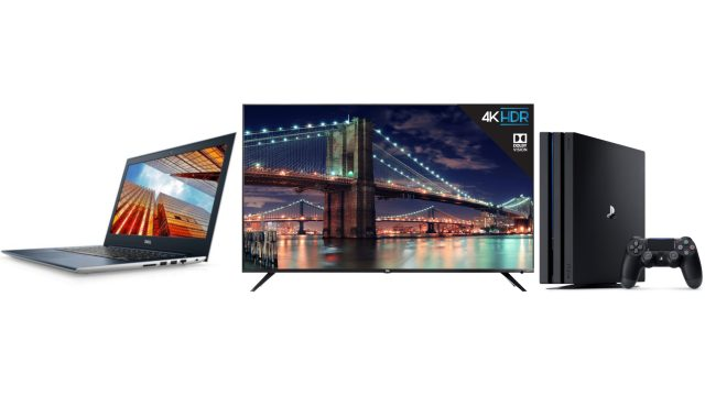 ET Deals: TCL 65-Inch 4K Roku Smart TV $699, Sony PS4 Pro 1TB $349, Dell Vostro 14 5000 $699 16