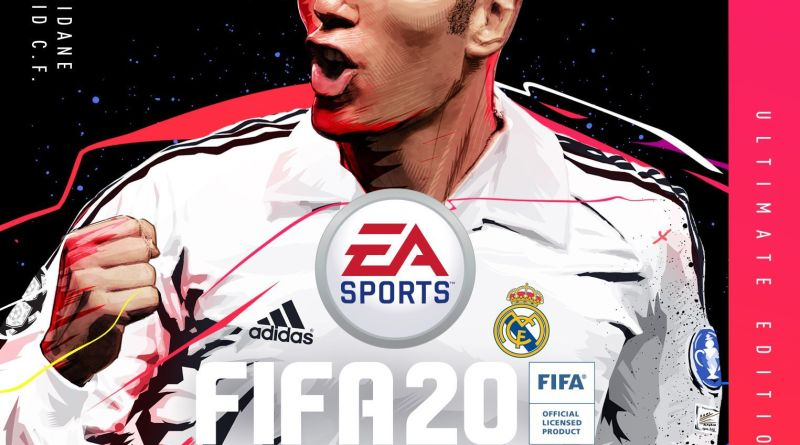 Zinedine Zidane, Soccer Legend, Is a FIFA 20 Cover Star 3