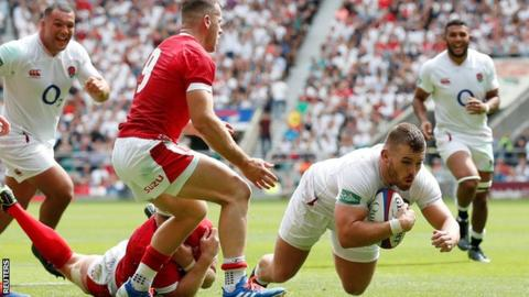 England beat Wales 33-19 in World Cup warm-up game 5