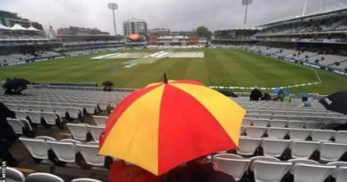 Ashes 2019: Rain washes out first day of Lord's Test 3