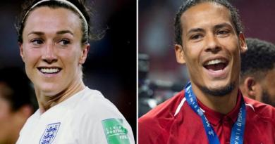 Uefa Player of the Year: Lucy Bronze and Virgil van Dijk win awards 2
