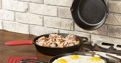 Replace Your Old Nonstick Pans With This Lodge Cast-Iron Set for $50 2
