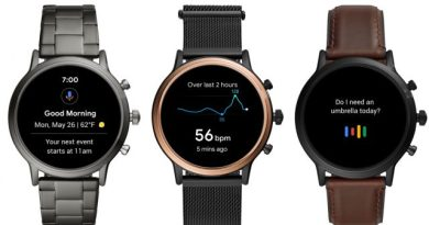 Fossil Releases Gen 5 Smartwatches, Keeps Wear OS on Life Support 4