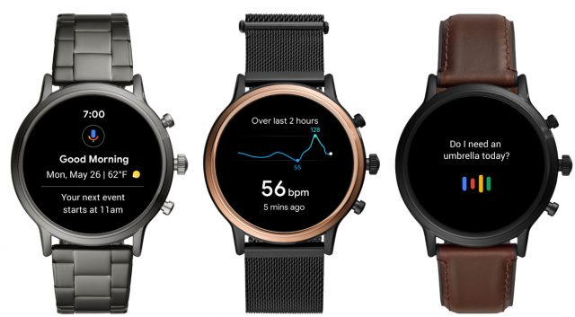 Fossil Releases Gen 5 Smartwatches, Keeps Wear OS on Life Support 5