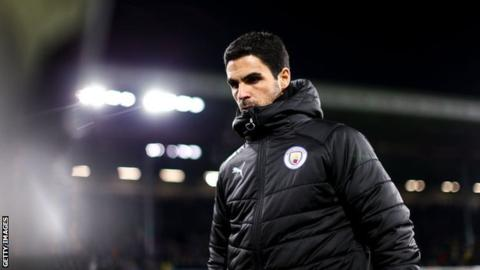 Mikel Arteta: Arsenal make contact with Manchester City to make Spaniard next boss 1