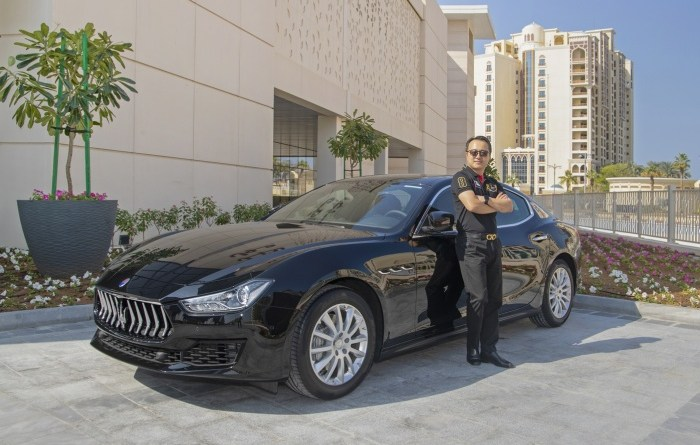 Dubai resident wins Maserati at Nakheel Mall 1