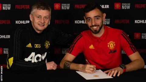 Bruno Fernandes: Manchester United sign Sporting Lisbon midfielder 6