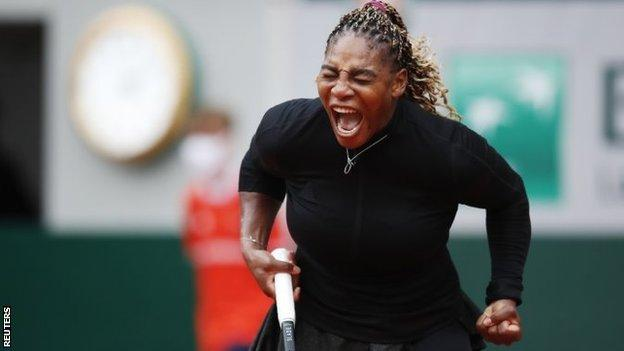 French Open: Serena Williams beats Kristie Ahn at Roland Garros 1