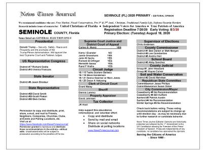 2020 FL Seminole Primary