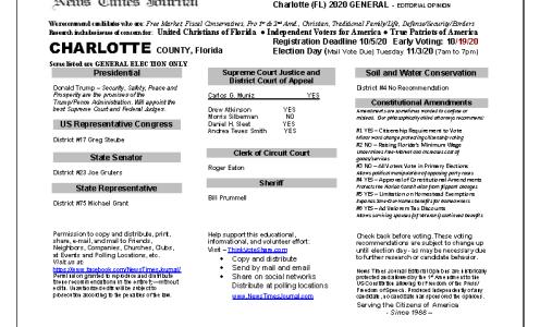 FL Charlotte 2020 General