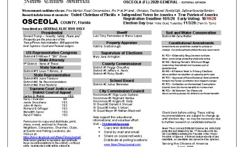 FL Osceola 2020 General