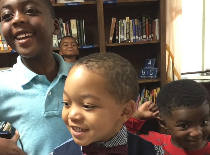 Boys in Children's Church