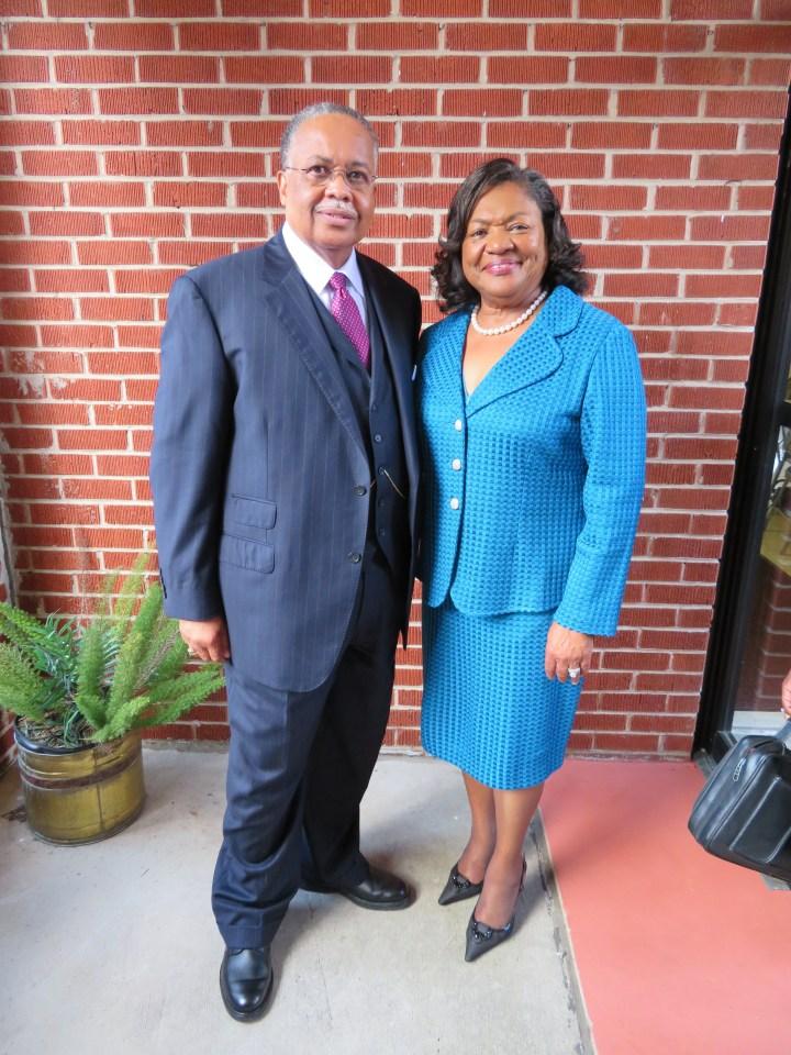 Rev. Myles & First Lady, Joyce Myles