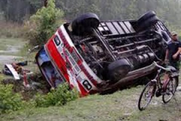 रसुवामा बस दुर्घटना, ३० को मृत्यू, चार दर्जन घाइते