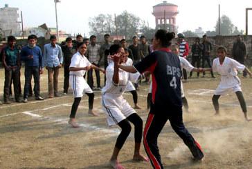 कबड्डीमा छात्रातर्फ जिएचपी मावि विजयी