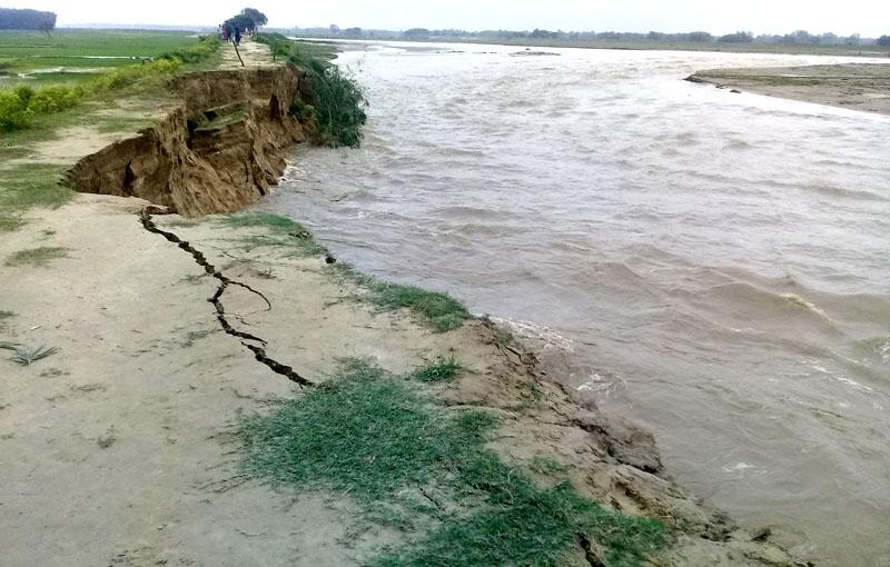 सप्तरीमा नदी नियन्त्रण कहिले ?