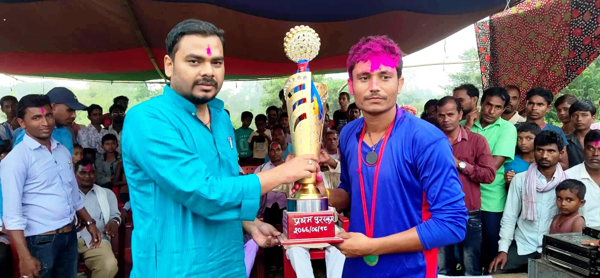 नेगडामा आयोजित पञ्च शिल्ड क्रिकेटमा लहानको शान्दार जीत