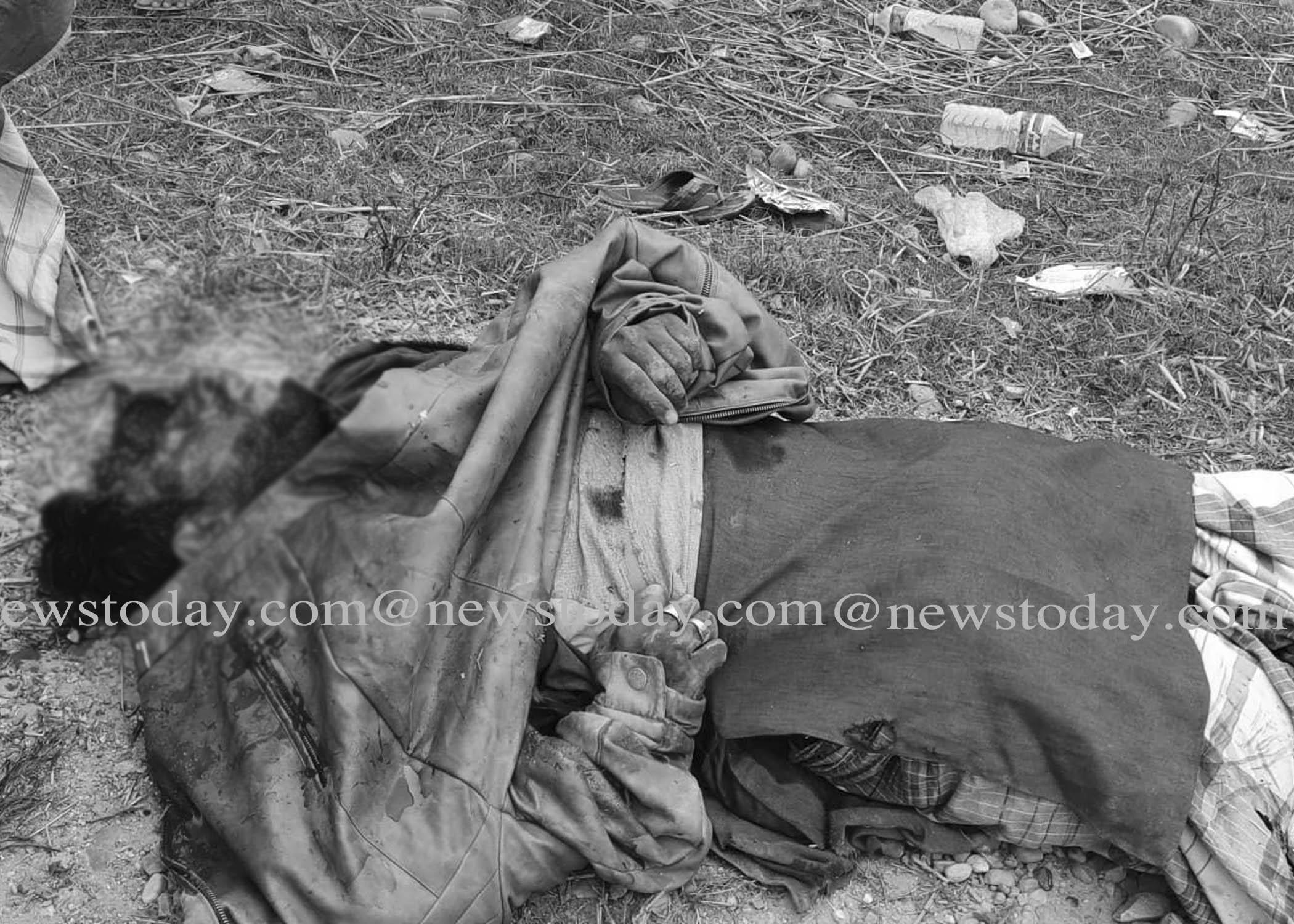ट्रिपरको ठक्करले एक भारतीय नागरिकको मृत्यु, एक दर्जन व्यक्ति घाइते