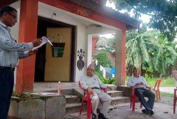 दलित अगुवाहरुद्वारा प्रमुख जिल्ला अधिकारीलाई ज्ञापन–पत्र