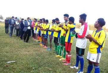 तेरहौतामा तेस्रो गेढसिंह पचशिल्ड फुटबल प्रतियोगिता शुरु
